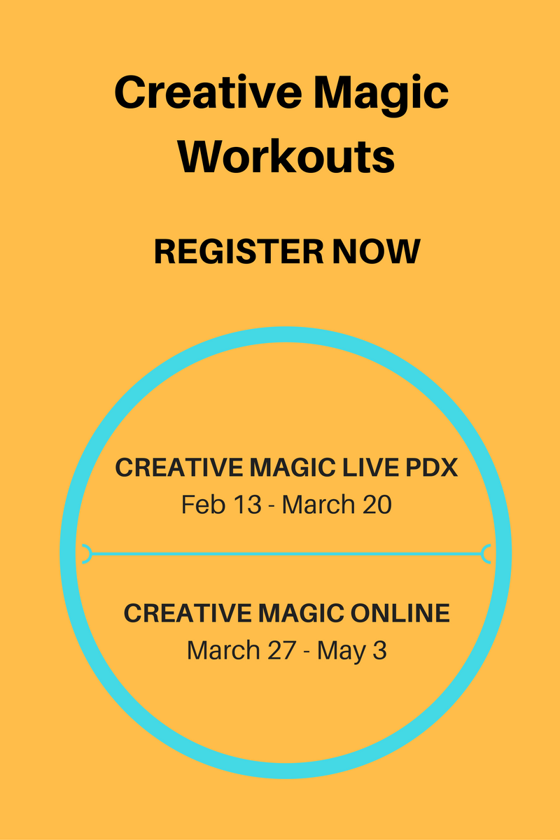 Register for Creative Magic Workout