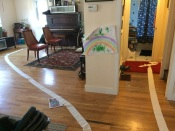 It only takes one roll of toilet paper (and four minutes) to lay down a path to adventure
