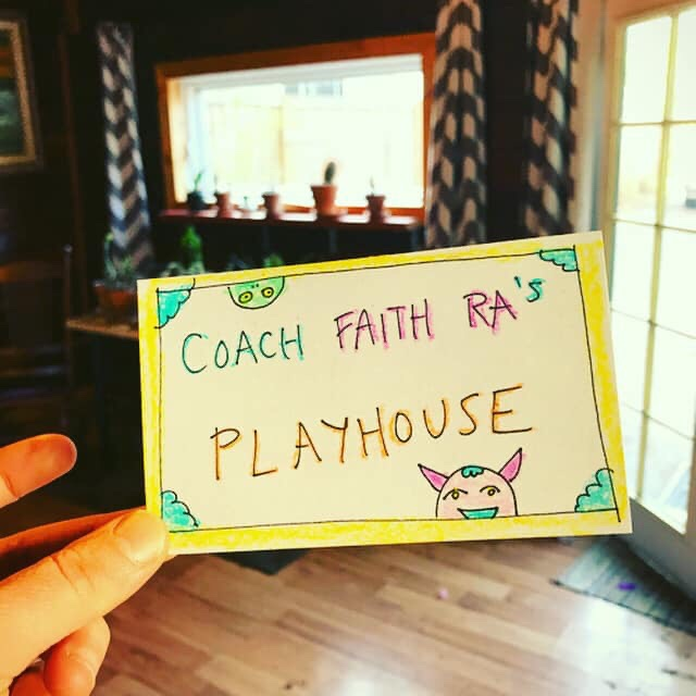 Coach Faith Ra's playhouse